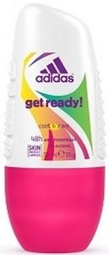 Fotografie Adidas Cool & Care 48h Get Ready! for Her kuličkový antiperspirant deodorant roll-on pro ženy 50 ml