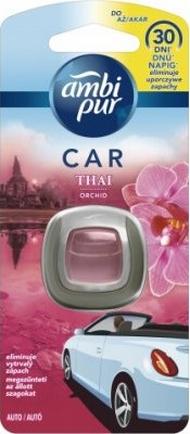 Fotografie Ambi Pur Car Thai Orchid osvěžovač vzduchu do auta 2 ml