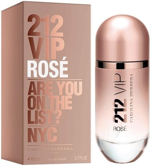 Fotografie Carolina Herrera 212 VIP Rosé parfémovaná voda pro ženy 50 ml