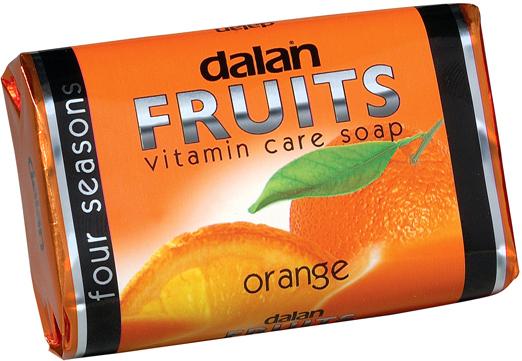Fotografie Dalan Fruits Orange toaletní mýdlo 100 g