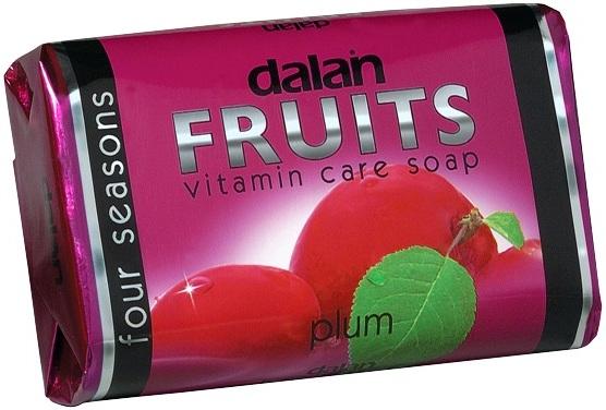 Fotografie Dalan Fruits Plum toaletní mýdlo 100 g