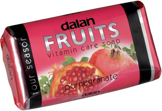 Fotografie Dalan Fruits Pomegranate toaletní mýdlo 100 g