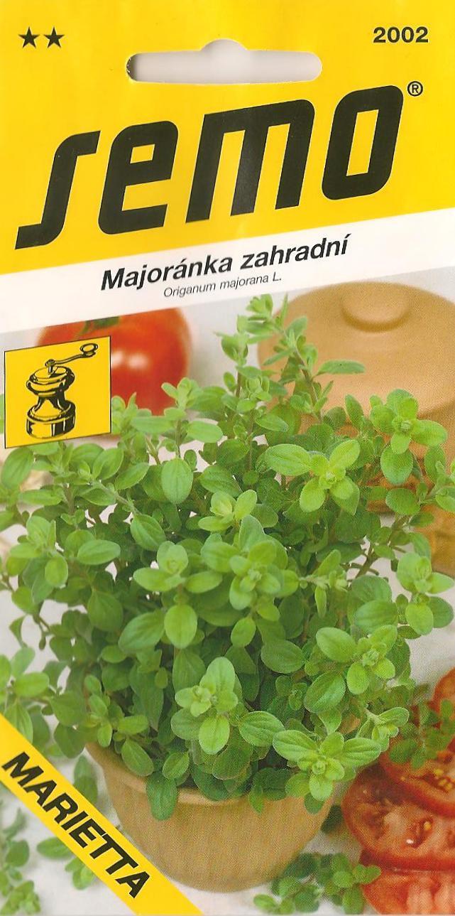 Semo Majoránka zahradní Marietta 0,35 g