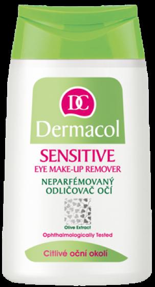 Dermacol Sensitive Eye Make-up Remover neparfémovaný odličovač očí pro citlivé oční okolí 125 ml
