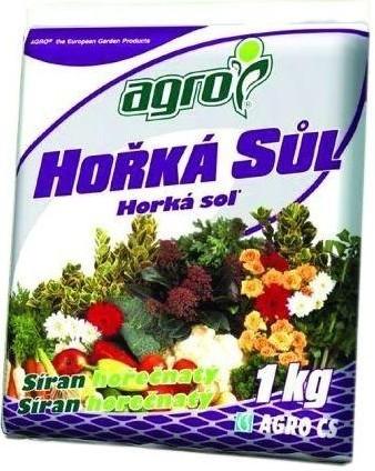 Agro Hořká sůl 1 kg síran hořečnatý