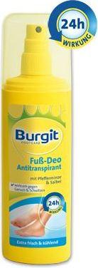 Burgit Footcare Deo sprej na nohy 150 ml