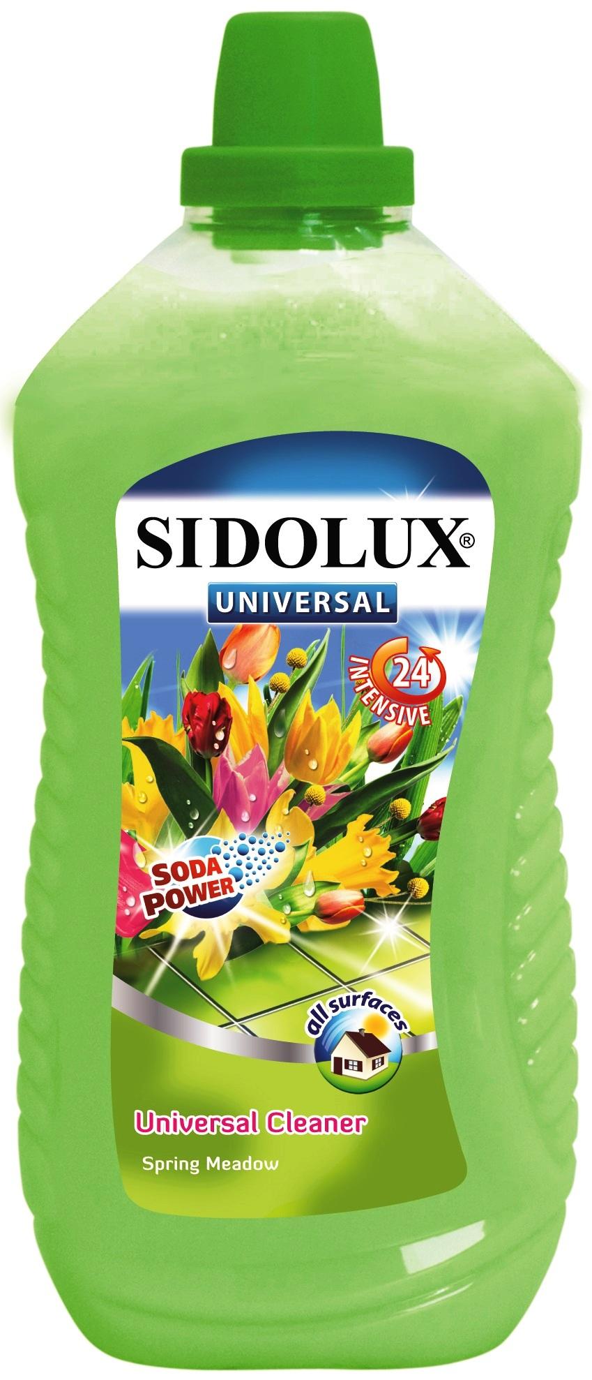 Sidolux Universal Soda Power Jarní louka univerzální mycí prostředek 1 l