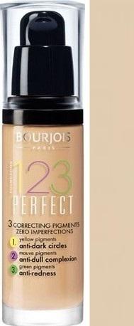 Fotografie Bourjois Make-up pro perfektní pleť SPF 10 (123 Perfect) 30 ml 54 Beige