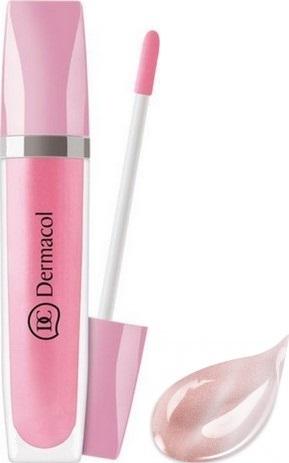 Fotografie Dermacol Shimmering Lip Gloss třpytivý lesk na rty 02 8 ml