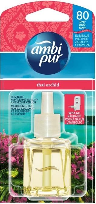 Fotografie Ambi Pur Tchai Orchid elektrický osvěžovač náplň 20 ml