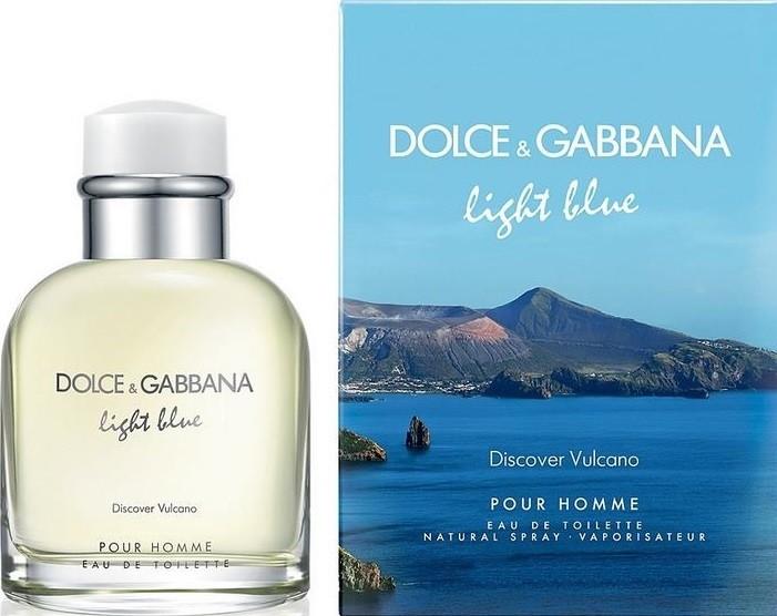 Dolce & Gabbana Light Blue pour Homme Vulcano toaletní voda 125 ml