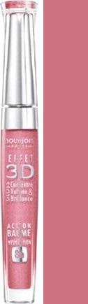 Fotografie Bourjois 3D Effet Gloss lesk na rty odstín 05 Rose Hypothetic 5,7 ml