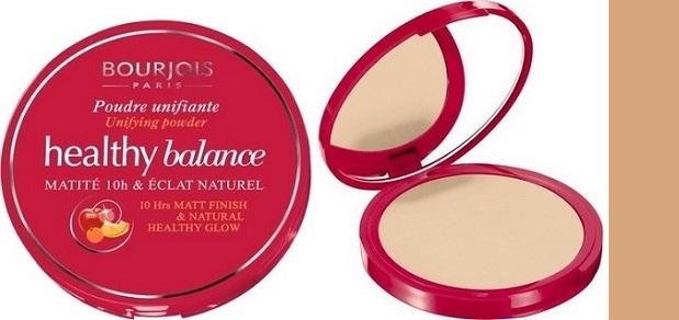 Fotografie Bourjois Healthy Balance kompaktní pudr odstín 56 Hale Clair 9 g