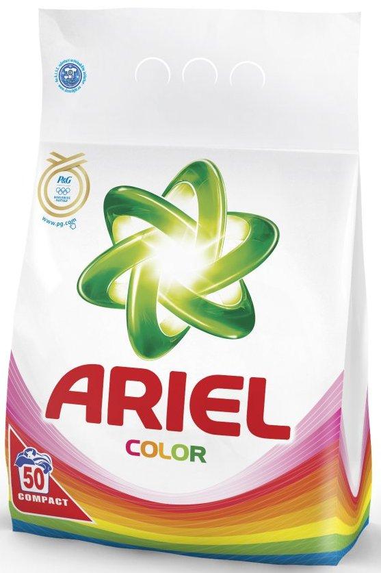 Fotografie Ariel Color prací prášek na barevné prádlo 50 dávek 3,5 kg