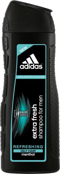 Fotografie Adidas Extra Fresh šampon pro mastné vlasy 400 ml