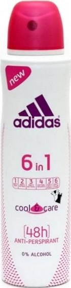 Adidas Cool & Care 48h 6v1 antiperspitant deodorant sprej pro ženy 150 ml