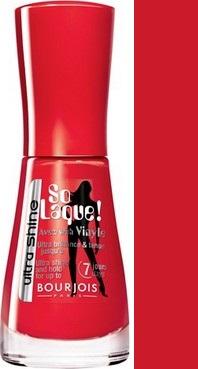 Bourjois So Laque! Ultra Shine lak na nehty 25 Rouge Casino 10 ml