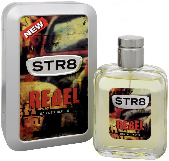 Str8 Rebel toaletní voda pro muže 50 ml
