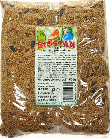 Biostan Krmivo pro andulky 500 g