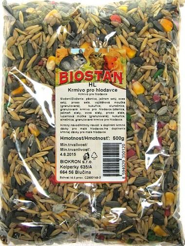 Biosta Biostan krmivo pro hlodavce 500 g