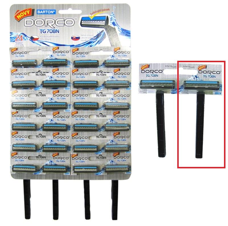 Bartoň Jednorázový holící strojek pro muže 2 břitý 1 kus TG708N