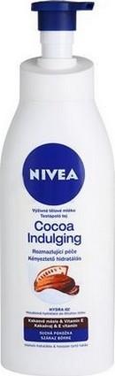 Fotografie Nivea Cocoa Indulging Výživné tělové mléko pro suchou pokožku 400 ml