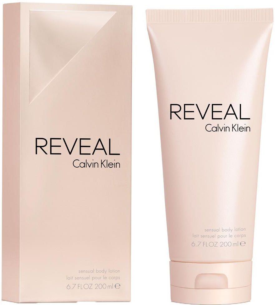 Fotografie Calvin Klein Reveal tělové mléko pro ženy 200 ml