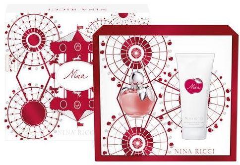 Nina Ricci Nina toaletní voda 80 ml + tělové mléko 200 ml, dárková sada