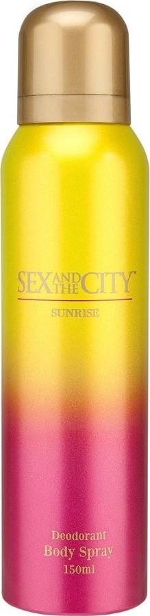 Sex and The City Sunrise deodorant sprej pro ženy 150 ml