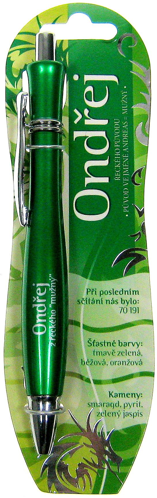 Nekupto Elegant pero se jménem Ondřej 1 kus