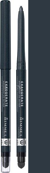 Fotografie Rimmel London Exaggerate automatická voděodolná tužka na oči 264 Earl Grey 0,28 g