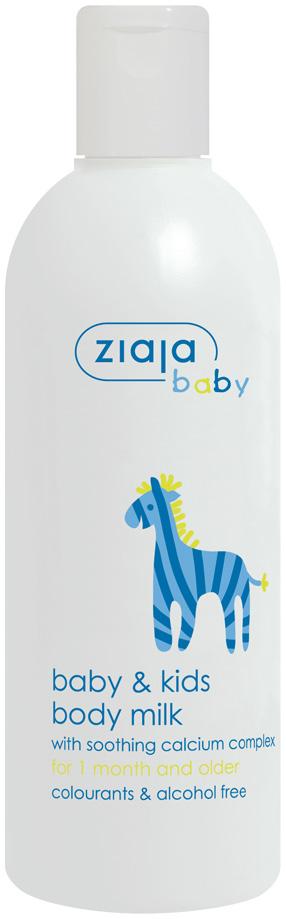 Ziaja Baby tělové mléko od 1 měsíce 300 ml