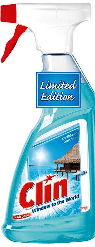 Clin Carbbean Sunshine čistič na okna rozprašovač 500 ml