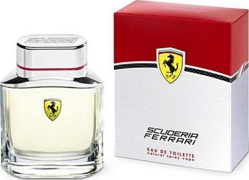 Fotografie Ferrari Scuderia toaletní voda pro muže 75 ml