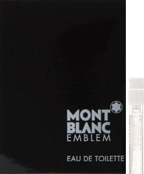 Montblanc Emblem toaletní voda 1,2 ml s rozprašovačem, Vialka