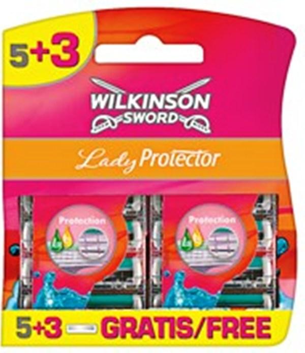 Wilkinson Lady Protector náhradní hlavice 8 kusů