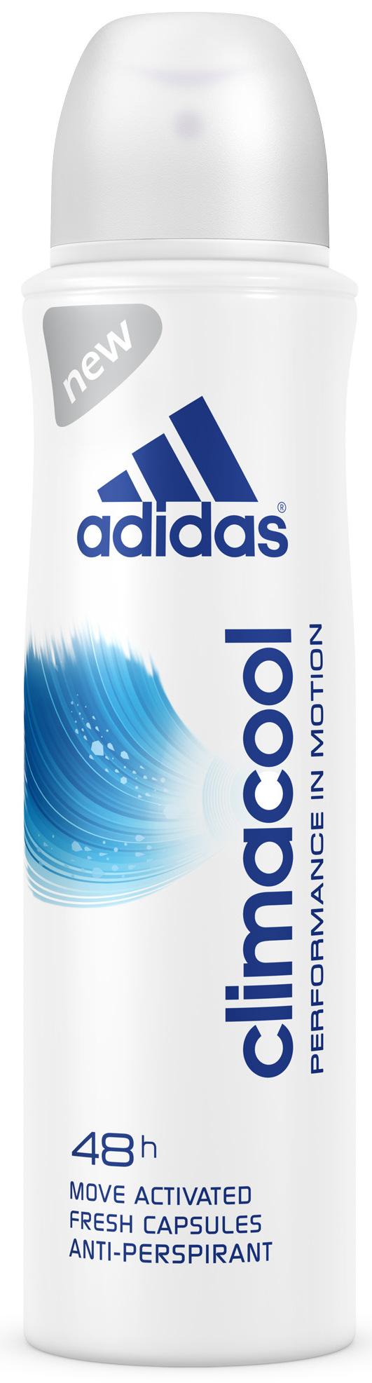 Fotografie Adidas Climacool 48h antiperspitant deodorant sprej pro ženy 150 ml