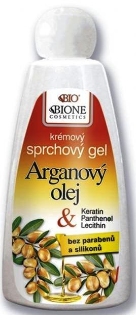 Bione Cosmetics Arganový olej krémový sprchový gel 260 ml