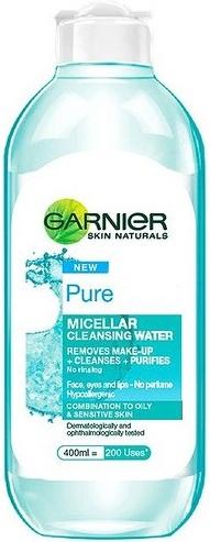 Fotografie Garnier Pure micelární čisticí voda 400 ml