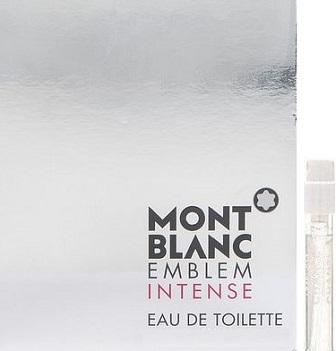Montblanc Emblem Intense toaletní voda pro muže 1,2 ml s rozprašovačem, Vialka