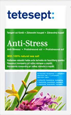 Fotografie Tetesept Protistresová Levandule a Meduňka 100% Mořská sůl 80 g Anti Stress