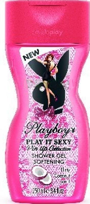 Fotografie Playboy Play It Sexy Pin Up! sprchový gel pro ženy 250 ml