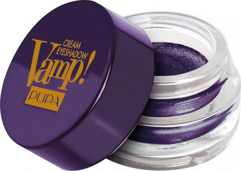 Pupa Paris Experience Vamp! Cream Eyeshadow krémové oční stíny 002 Deep Purple 4,5 g