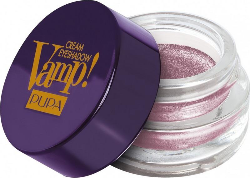Pupa Paris Experience Vamp! Cream Eyeshadow krémové oční stíny 005 Lilac Grey 4,5 g