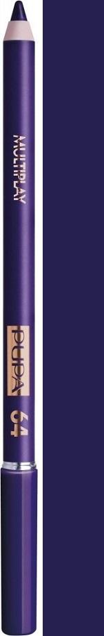Pupa Paris Experience Multiplay Triple-Purpose Eye Pencil tužka na oči 64 Deep Purple 1,2 g