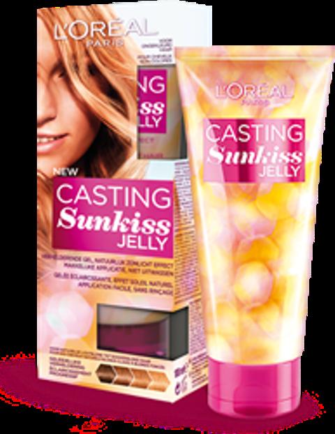 Fotografie Loréal Casting Sunkiss Jelly Gel na zesvětlení vlasů 02 Blonde 100 ml