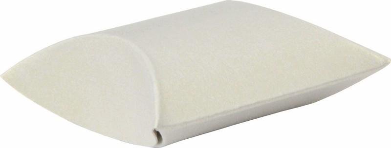 Dárková krabička čočka, pukačka bílá 12 x 11 cm 1 kus