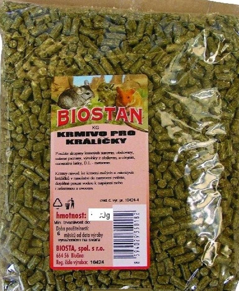 Fotografie Biosta Biostan krmivo pro Králíčky 500 g