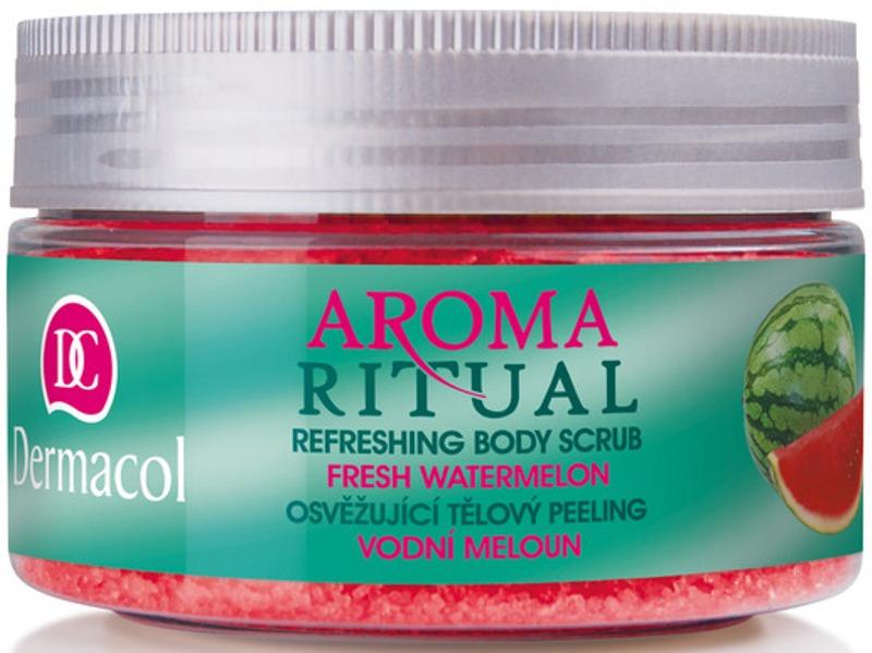 Fotografie Dermacol osvěžující tělový peeling Vodní Meloun 200 g