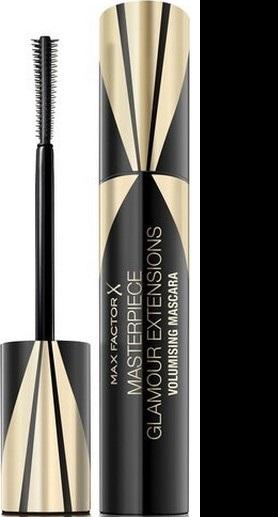 Fotografie Max Factor Masterpiece Glamour Extensions 3v1 Volumising řasenka Black 12 ml